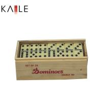 Buy cheap toy series Double six domino set with wooden box product