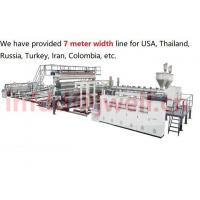 Buy cheap Waterproof membrane extrusion line product