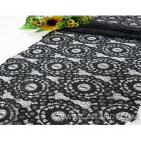 Buy cheap Sexy black African style lace fabric LCT5713 product