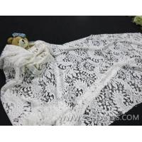 100% nylon wedding lace with excellet floral pattern LCA10018