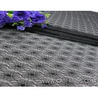 2014 Hot black color lace fabric for cloths LCA75056