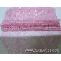 Buy cheap Pink soft floral lace fabric LCHJ5629 product
