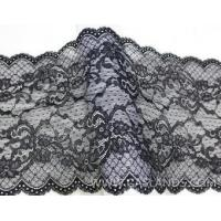 Buy cheap Elegant black elastic lace LCS86039 from wholesalers