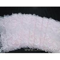 Buy cheap Latest white bride lace fabric LCHJ5330 from wholesalers