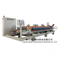 Buy cheap metals products Automatic double belt press ceramic tile squaring & chamfering machine product