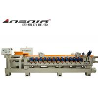 Buy cheap metals products 12+1 double pressure belt ceramic tile edge grinding machine product
