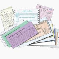 Buy cheap factory made customized Invoice printing, note pad printing product
