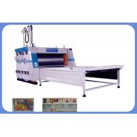 Buy cheap Carton box printing machine Electrical Image Positioning Water Printing and Sub Pressing Machine product