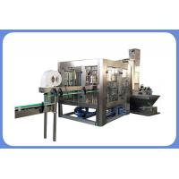 Buy cheap Automatic soft drink sparkling production line carbonated drink filling machine product