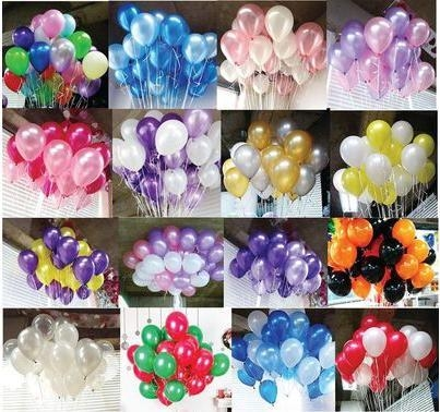 Quality 100PCS/OPP bags mixed color round shaped latex balloon for sale
