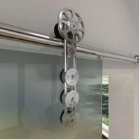 Buy cheap Palermo Barn Door Hardware for Glass Doors from wholesalers