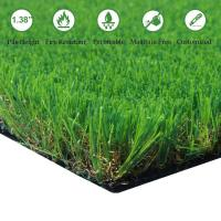 Buy cheap Artificial Grass Turf Thick Synthetic Rug Fake Carpet Mat Rubber Backed from wholesalers