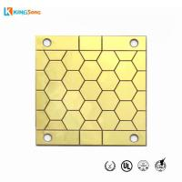 Buy cheap LED Violet 0.635mm Aluminum Nitride Material Ceramic PCB from wholesalers