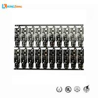 Buy cheap Advanced FR4 Material Black Soldermask PCB Boards Manufacturer from wholesalers