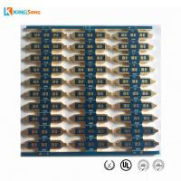 Buy cheap Best LED PCB Manufacturer FR4 2.5mm thickness 2 Layer ENIG Surface Finishing With Edge from wholesalers