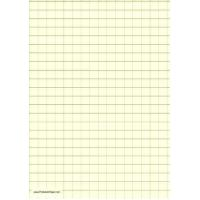 Buy cheap Printable Graph Paper - Light Yellow - Half Inch Grid - A4 from wholesalers