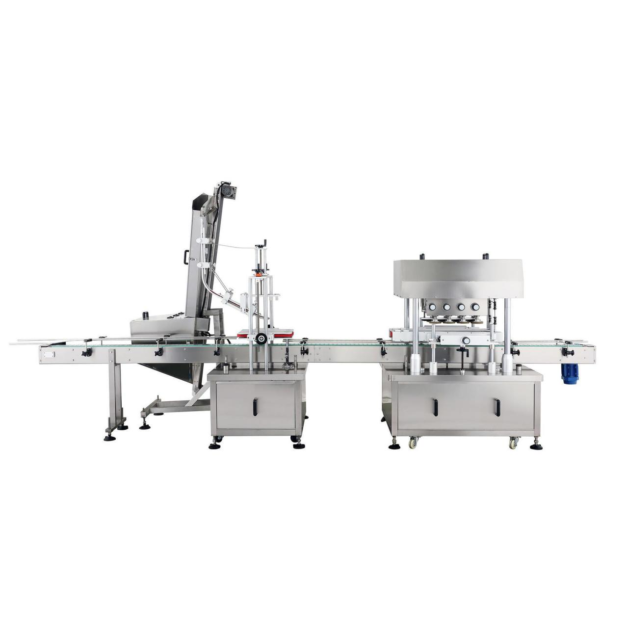 Buy cheap Automatic linear type capping machine from wholesalers