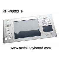 Buy cheap Metal Keyboard with Digital Keypad and Touchpad for Industrial Instrumentation product