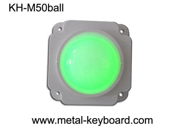 Quality 50 MM Mechanical Resin trackball / Backlit trackball Pointing Device for sale