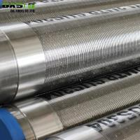 Buy cheap Johnson Type Stainless Steel Gravel Pre-pack Well Screens from wholesalers
