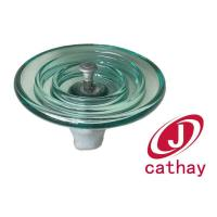 Buy cheap Aerodynamic disk suspension type glass insulator from wholesalers