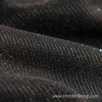 Buy cheap Elastic polyester tricot knitted fusing interlining fabric from wholesalers