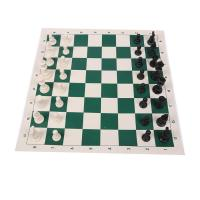 China Leather Travel Chess Set on sale