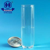 Buy cheap Clear BPA Free 200# 330ml 11OZ 0.07GAL Juice PET Cans Plastic Drink Packing product