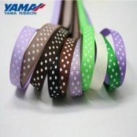 Buy cheap YAMA 38mm Polka Dots Polyester Grosgrain Ribbon from wholesalers