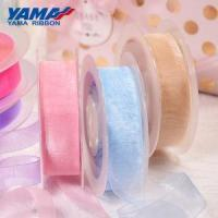 Buy cheap YAMA 25mm Polka Dots Polyester Grosgrain Ribbon from wholesalers