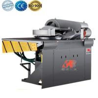 Buy cheap Intermediate frequency steel shell furnace to melt gold from wholesalers