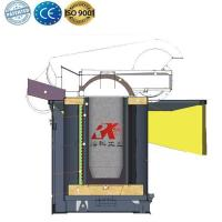 Buy cheap Electric melting Crucible furnace for steel aluminium from wholesalers