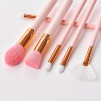 Buy cheap pink makeup brush set from wholesalers